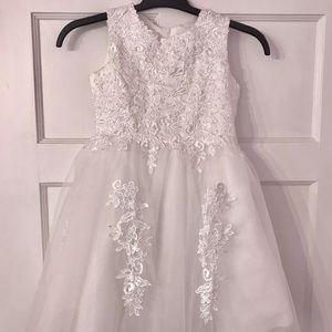 298314c32460 Other - Girls flower girl/first communion dress